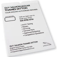 Branded A4 MOT Certificate Holders For UK Motoring Businesses From Total Merchandise