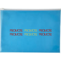 Promotional A4 Transparent PVC Document Bags for Campaign Designs