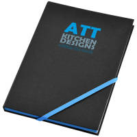 A5 Neon Notebooks in Black/Blue