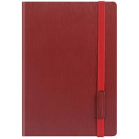 Promotional A5 Cambridge PU Notebooks in red available from Total Merchandise
