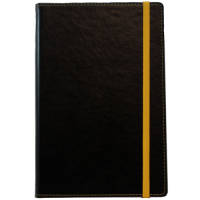 Custom Branded A5 Colour Contrast PU Notebooks from Total Merchandise