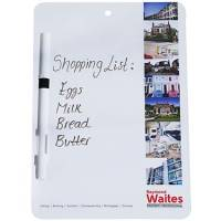 A5 Dry Wipe Memo Boards in White