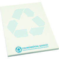 A5 Recycled Desk Pads in White