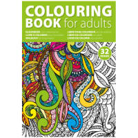 Promotional Anti Stress Colouring Books for calming therapy and stress relief