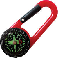 These branded Adventure Compass Keyrings are available in four different colours.