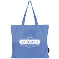 Promotional printed Bayford Folding Shopping Bags for corporate events