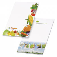 Promotional BiC 20 Sheet Scratch Pads with non adhesive pages for Office Merchandise