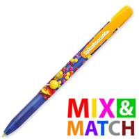 Promotional BiC Media Clic Grip Ballpen Made in Mix & Match Colours by Total Merchandise