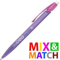 Promotional BiC Media Clic Pencil in Purple/Pink from Total Merchandise