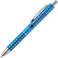 Promotional Light Blue Ballpoint Pens Branded With Your Logo From Total Merchandise