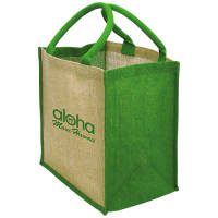 Promotional Brighton Bag For Life in Green with Printed Logo by Total Merchandise