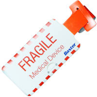 Budget Luggage Tags in White