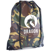 Promotional Camouflage Drawstring Bags for corporate events