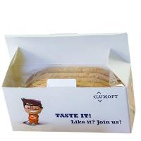 Promotional Breakfast Biscuit Boxes for Company Snacks