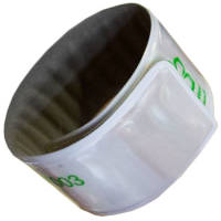 Promotional Children's Reflective Slap Wrap Wristbands with logo