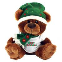 Christmas Teddy T Shirt Bears printed with company logo
