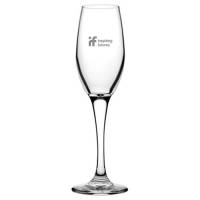 Personalised Classic Heavy Base Flute Glasses for Event Merchandise