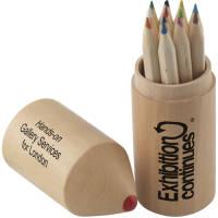 Branded Colouring Pencils Topper Set for School Merchandise