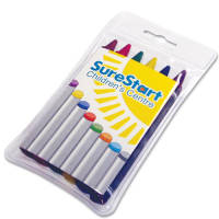 Promotional Crayon 6 Pack for childrens merchandise