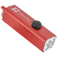 Promotional Cuboid LED Keyrings are funtional and budget friendly