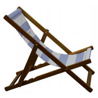Promotional deck chairs printed with your full colour artwork for outdoors events & summer giveaways