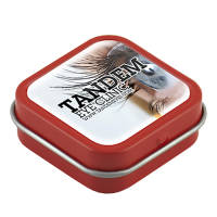 Domed Logo Mini Mint Tins in Red