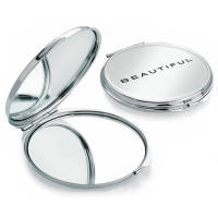 Double Compact Mirror in Chrome