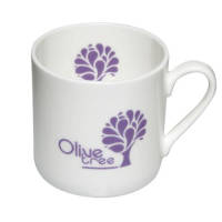 Promotional Espresso Bone China Mugs for Corporate Gifts