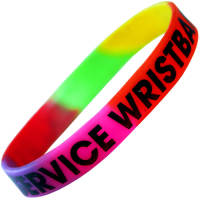 Printed Express Silicone Wristbands event ideas