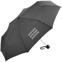 Fare Mini Alu Umbrellas in Black