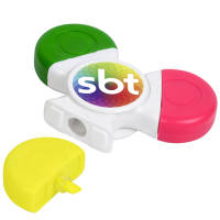 Promotional Fidget Spinner Highlighter Pens for Great Event Merchandise