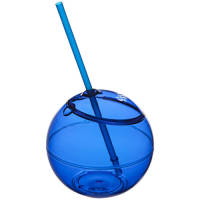 Fiesta Drinks Bowl and Straw in Royal Blue