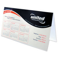 Free Standing Desk Calendars in White