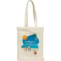 Full Colour 10oz Cotton Tote Bags in Natural