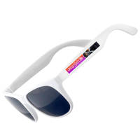 Full Colour Printed Sunglasses in White
