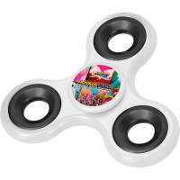Promotional Full Colour Fidget Spinners with company design