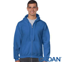 Gildan Zipped Hoodies Printed with Your Logo from Total Merchandise