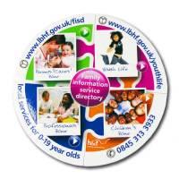 Gnalvic 4 Piece Puzzle Coaster
