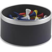 Golfers Tee Tins in Black