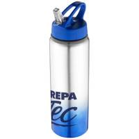 740ml Gradient Bottles in Blue/Silver
