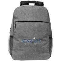Heathered Computer Backpacks in Heather Grey