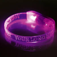 Promotional LED Light Up Wristbands for Events