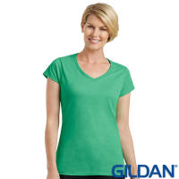 Ladies Gildan V Neck T-Shirts