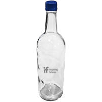 Promotional Large Screw Top Glass Bottles with Custom Engraving for Total Merchandise