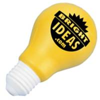 Stress Light Bulb in Off White/Yellow