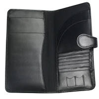 RFID Malvern Leather Branded Travel Wallets Printed with Your Logo from Total Merchandise