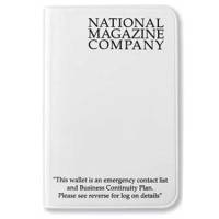 Membership Card Wallets in White