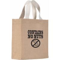 Mini Jute Gift Bags in Natural
