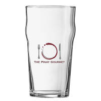 Branded Nonic Pint Glasses for Bar Merchandise