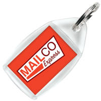 Promotional P5 Keyring Printed with Your Logo in Full Colour from Total Merchandise